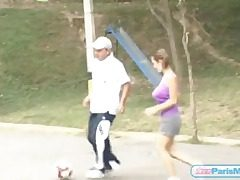Big fun bags juggle as teen plays soccer