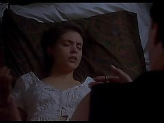Alyssa Milano nude - Embrace of the Vampire (1995) - by Search Celeb HD
