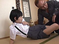 Naho Hazuki and Rina Hatsune are insatiable and alluring schoolgirls getting out of their school uniforms and into some hot sex! There is plenty of dildo play and handjobs for these femmes and the crazy fellow they are with. Pose Sixty nine and a hard fuc