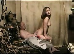 Old guy youthfull damsel nail Retha from 1fuckdatecom