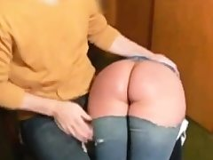 Enema and smacking for fuckslut Naomi 19