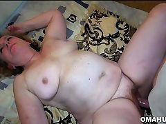Granny Love Three-way Sex