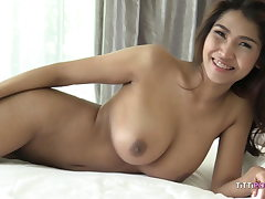 busty japanese girl let's foreigner pulverize her raw
