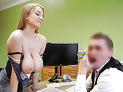 LOAN4K. Sizzling romp in the loan office of Suzie Sun and tricky..