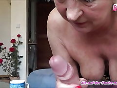 german aged mature woman fucks youthfull neighbor - amateur