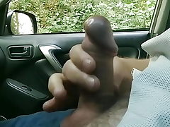 Public dick car showcase with cum 54 - She looks