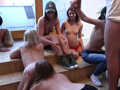 Homemade Orgy with Teenager Girls